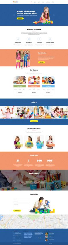 Kindergarten Website Template - https://www.templatemonster.com/website-templates/sunrise-kids-center-kindergarten-responsive-website-template-58894.html
