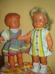 Retro panenky Retro Toys, Ronald Mcdonald, Dolls, Summer Dresses, Children, Baby Dolls, Young Children, Boys, Summer Sundresses