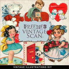 Freebies Vintage Post Cards