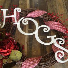 My new homemade wreath!