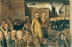 Felix Nussbaum The damned, 1943