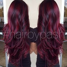 I don't really like the dark reds I like the brighter reds more they're prettier and your more noticeable In a crowd when people see you