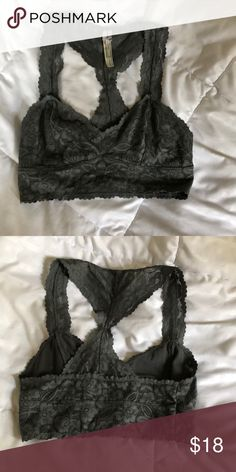 5a2f6daa0194a Free People bralette Excellent condition sage green sz XS Free People  Intimates   Sleepwear Bras