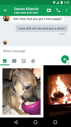 Hangouts- screenshot