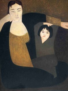 Mother and child - Will Barnet