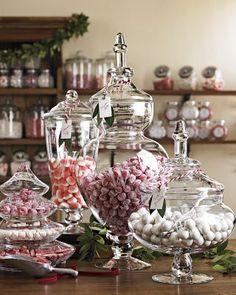 I love apothecary jars