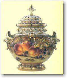 Six Royal Worcester Cabinet Plates Albert Shuck Lot 29 | Antiques ...