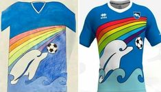 Latest News for Italian Soccer Club Pescara Picks Boys Jersey Design . Italian soccer club Pescara has simplified the process -- it turned to a The Serie B side launched a competition for young fans to design a jersey for the team. The club has now . Luigi, Latest Smartphones, Old Fan, Soccer Kits, League Gaming, Club Shirts, Delphine, School Football, The A Team