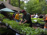 Rutgers Gardens Spring Flower Fair 2015- watch for the spring date and plant list.  			                                     The Ultimate Plant Sale