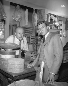 Still of Robert Stack and George Voskovec in The Untouchables