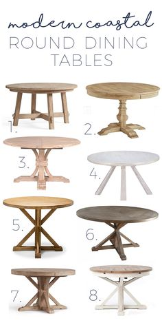 16 best round farmhouse table images kitchen dining home decor rh pinterest com