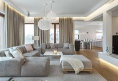 Inspirational Modern Living Room Designs Decor your home with contemporary and luxury living rooms that would make your home comfortable Living Room Interior, Home Living Room, Home Interior Design, Living Room Designs, Living Room Decor, Modern Interior, Farmhouse Interior, Luxury Interior, Luxury Living