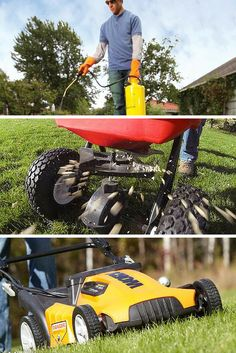 Lawn Care: Grow greener grass and get a great looking yard with this lawn care guide and tips. Read more: http://www.familyhandyman.com/landscaping/lawn-care