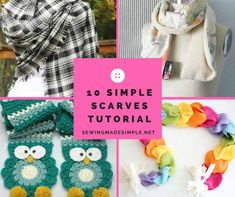 10 Simple Scarves To Ward Off The Chill