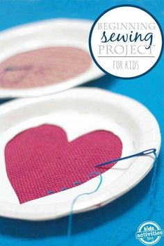 Make your own DIY sewing cards for beginning sewing projects for kids. Make your own DIY sewing cards for beginning sewing projects for kids. Practice sewing with a darni First Sewing Projects, Sewing Projects For Beginners, Sewing Tutorials, Sewing Tips, Sewing Ideas, Sewing Basics, Sewing Lessons, Love Sewing, Sewing For Kids