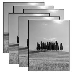 Set of 6 Format Frames - Black 8x10 for the gallery wall (buy 2 packs)