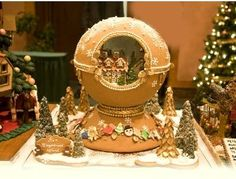 The National Gingerbread House Competition - Adult First Place Winner 2007 - The Grove Park Inn Resort and Spa - Asheville - North Carolina
