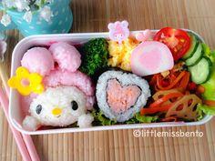 My-Melody-Valentine-Bento