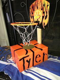 Basketball valentine box!