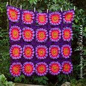 Ravelry: Blanket Flower Power pattern by Sol Maldonado