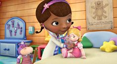 "thatssoscience:  Representation Matters: Doc McStuffins As you know, I am such a fan of media representation for women in STEM, but I haven't given fair credit to the amazing Doc McStuffins! I feel like I've been living under a rock, but this little girl is absolutely perfect. She's the daughter of a doctor and takes the things she learns from her mom and applies them to her own practice, Her toy practice! She's smart, curious and according to show creator Chris Nee, she's also a ""strong…"