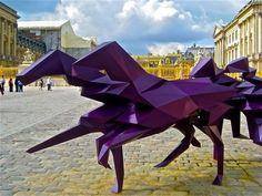 Après Jeff Koons, le château de Versailles accueille Xavier Veilhan - ARCSTREET.COM | architecture art fashion design style music news, blog magazine | welcome |