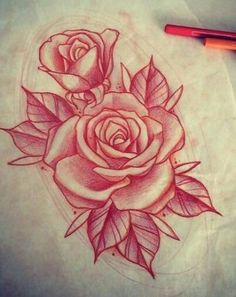 Rosen Tattoo Mehr Source by fashiontatts Rose Drawing Tattoo, Tattoo Sketches, Tattoo Drawings, Realistic Rose Tattoo, Rose Drawings, Tattoo Art, Arm Tattoo, Bild Tattoos, Body Art Tattoos