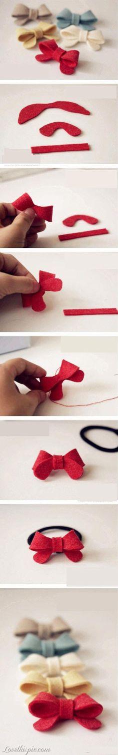 DIY Bows diy crafts craft ideas diy ideas diy crafts diy bow craft bow
