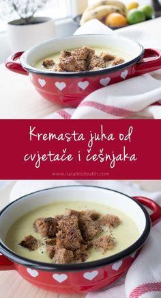 Kremasta juha od cvjetače i češnjaka | www.natalieshealth.com