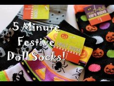 How to Make Festive Doll Socks in Five Minutes   Many Small Friends