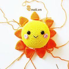 Crochet For Kids, Diy Crochet, Crochet Crafts, Crochet Toys, Crochet Baby, Crochet Projects, Crochet Mandala Pattern, Crochet Patterns Amigurumi, Baby Knitting Patterns