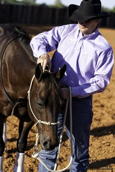 Groundwork Exercise #6: Touch & Rub - Poll Goal: To be able to lower the horse's head to the ground by applying the lightest amount of steady pressure to his poll. More about the exercise: https://www.downunderhorsemanship.com/Store/Product/MEDIA/D/253/