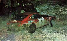 Rauno Aaltonen - Jean Todt 41st Rally Automobile de Montecarlo 1972 (Datsun 240Z)