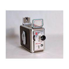 Vintage 1950's Kodak 8 mm video camera