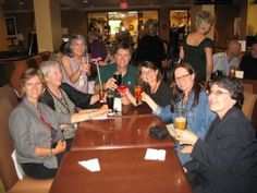 Cindy Hudson's Book Deal Toast at the Willamette Writers Conference 2009