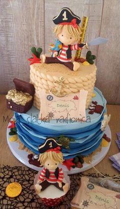 Pirate cake - Cake by Branka Vukcevic