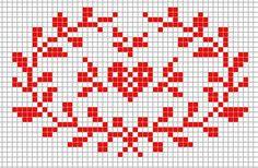 Steekjes & Kruisjes van Marijke; free pattern