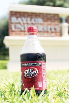 Few things go together better than #DrPepper and #Baylor, both Waco residents since the 1800s. #SicEm