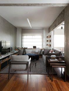 Un appartement à l'esprit loft à São Paulo (5)