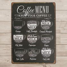 Details about Smell Drink Coffee Funny Tin Sign Bar Cafe Garage Wall Decor Retro Metal Vintage - Cafeteria Ideas - Cozy Coffee Shop, Coffee Bar Home, Coffee Menu, Coffee Shop Design, Coffee Signs, Coffee Drinks, Coffee Barista, Coffee Poster, Starbucks Coffee