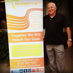 Look for our banner at future events! #referrals #networking #referralnetworking #sdrefnet