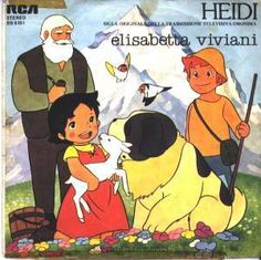 Heidi cartoons. Reminds me of my childhood
