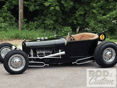 1927 Ford hot rod.  What a blast it must be driving this around town.