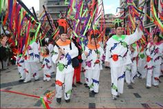 The grand opening ceremony at the Patras Carnival in Greece. http://www.house2book.com
