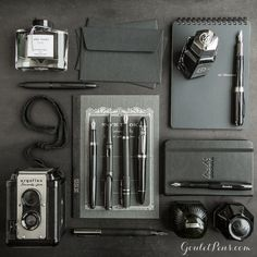 Goulet Pens Blog: Thursday Things: Does it Come in Black?