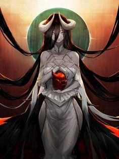 Otaku Anime, Manga Anime, Anime Demon, Anime Sexy, Albedo, Anime Fantasy, Manga Drawing, Manga Art, Overlord Anime Season 2