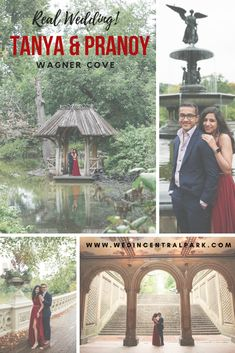 Tanya and Pranoy's Wedding in Wagner Cove, Central Park, New York