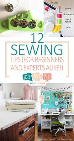 12 Sewing Tips (For Beginners and Experts Alike!)| Sewing Tips and Tricks, Sewing Hacks for Beginners, Beginner Sewing Projects, Fast Sewing Projects, Sew so Well, Tips for Beginner Sewers, Popular Pin