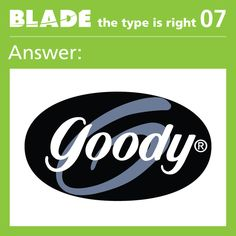 Answer - The Type is Right Game 7