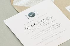 Glitter liners | Seven Swans Wedding Stationery